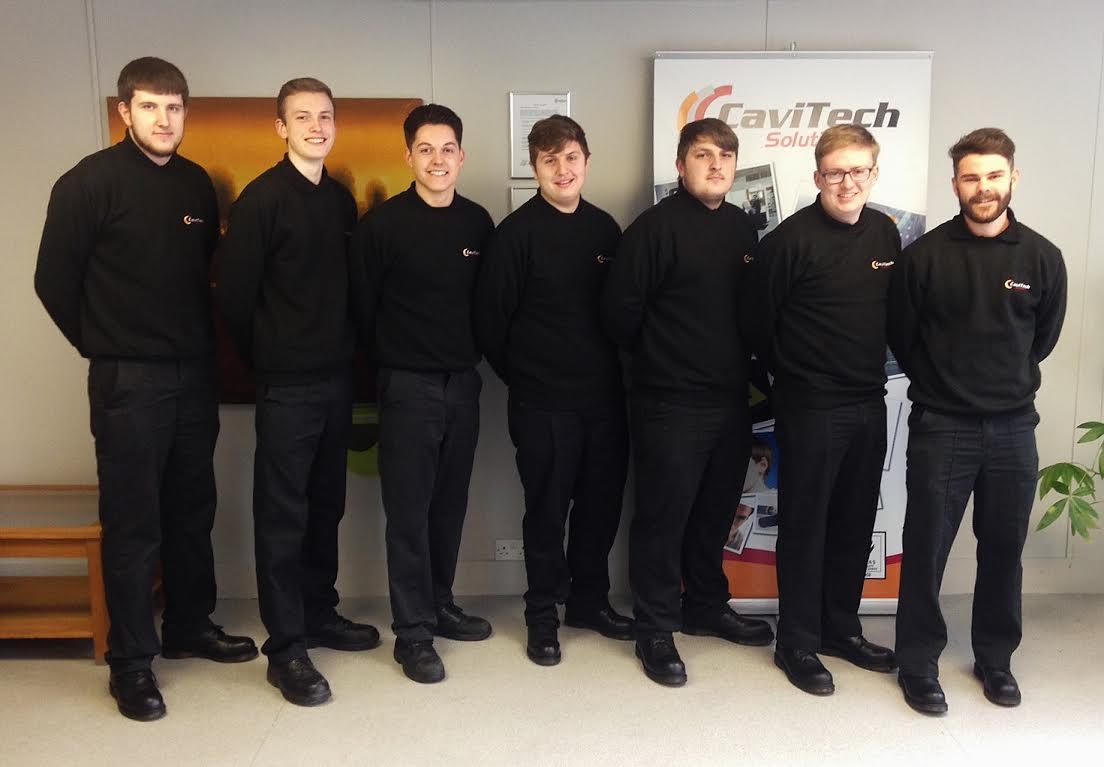 CaviTech apprentices 2016